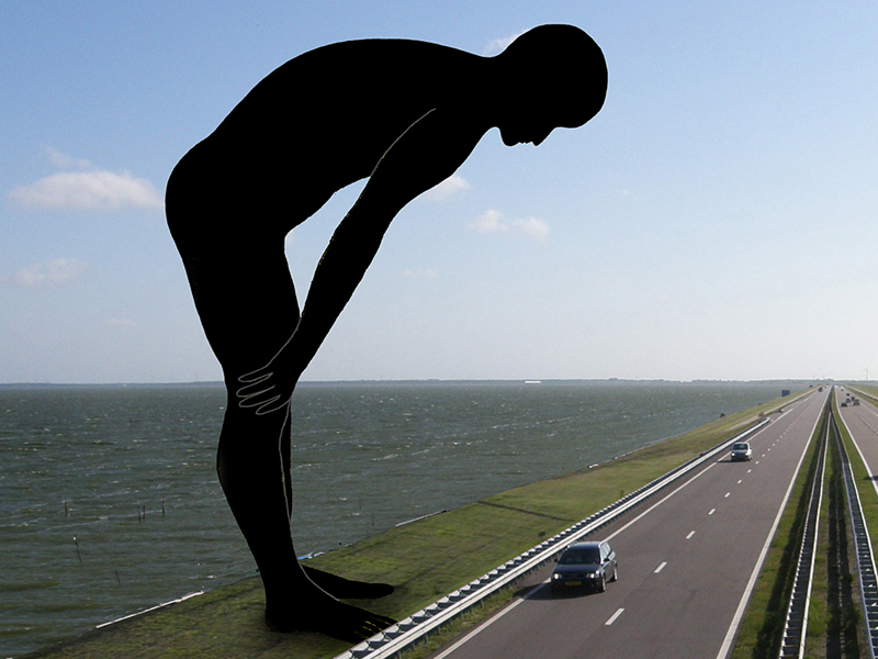 Public Art sculpture-Netherlands-BlokLugthart