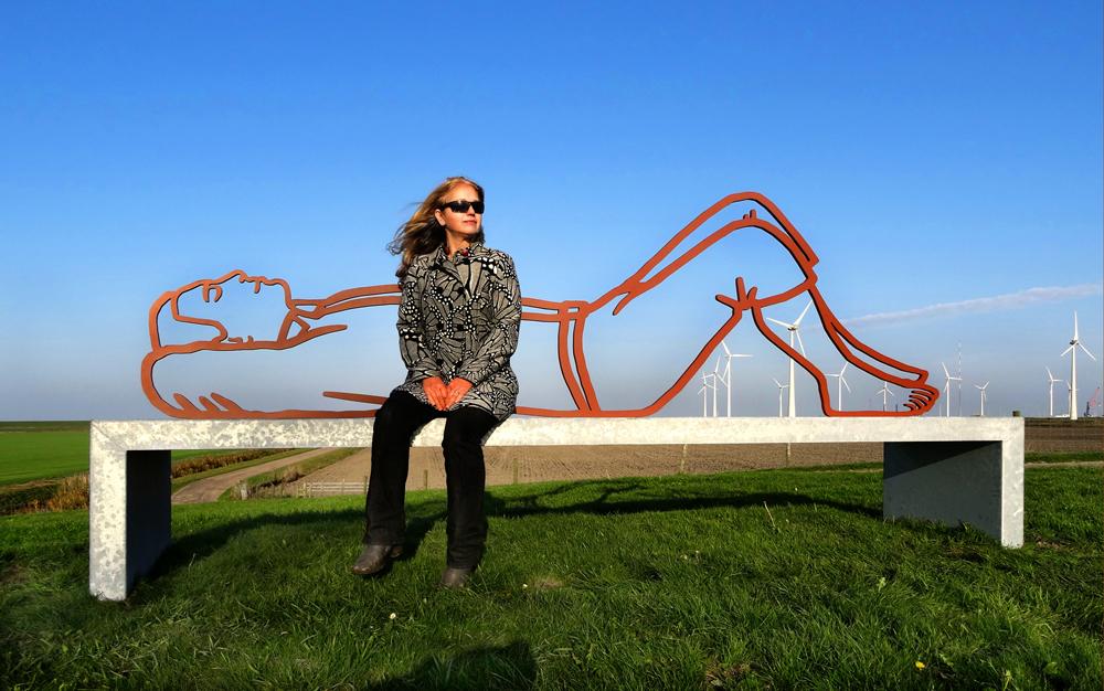 Public Art-Goliath Delfzijl-BlokLugthart