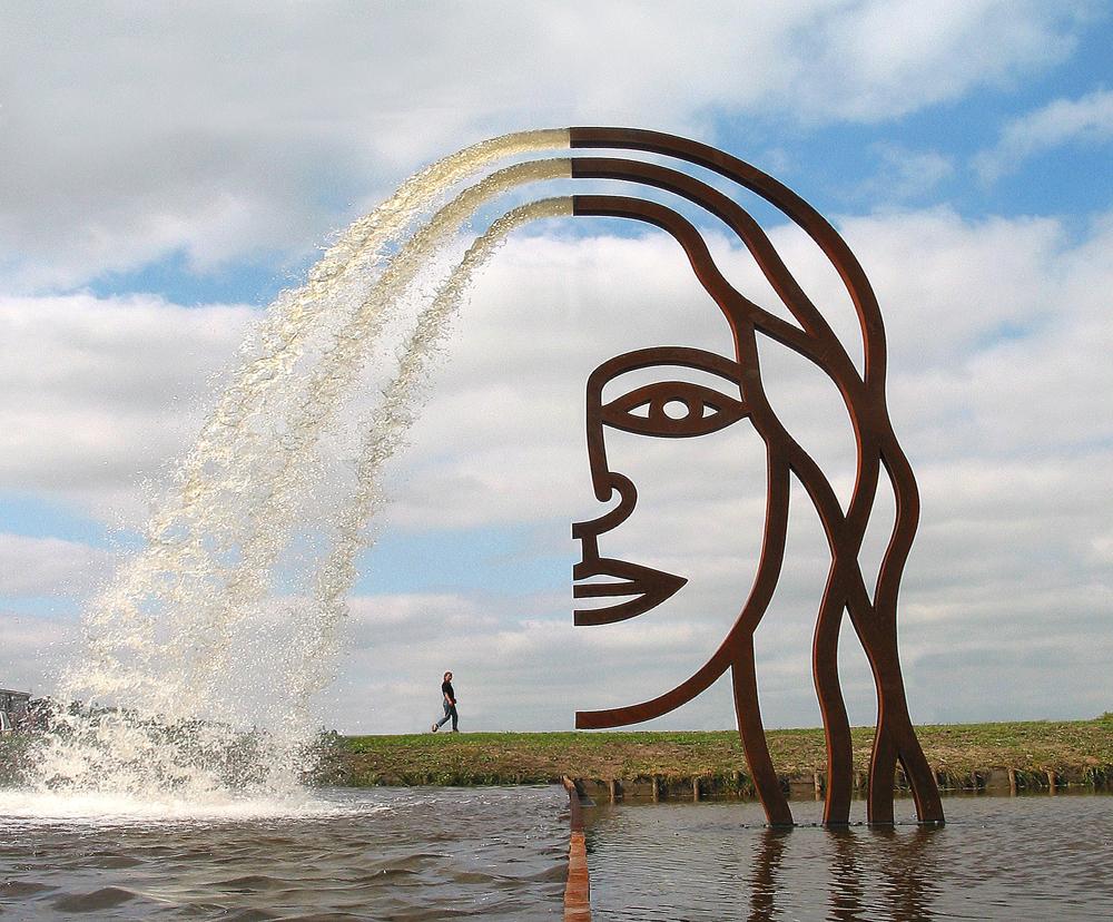 Public Art Joure-BlokLugthart 2