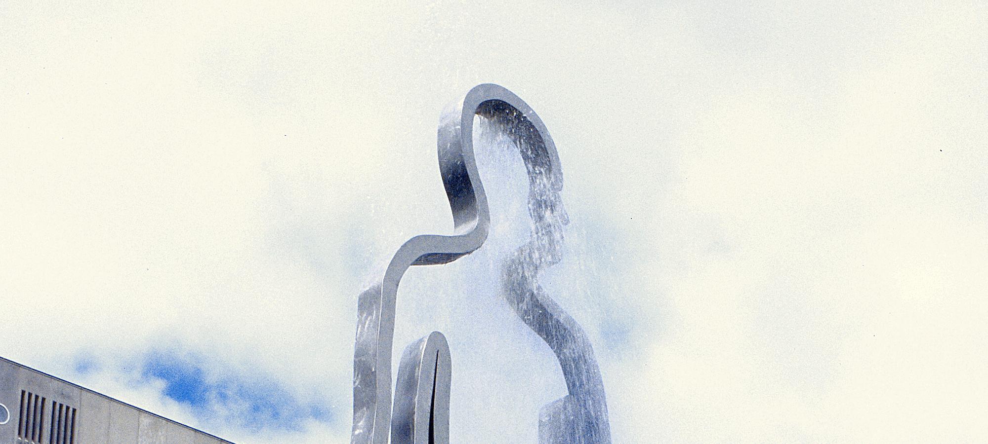 Public Art sculpture-University Groningen Netherlands-BlokLugthart