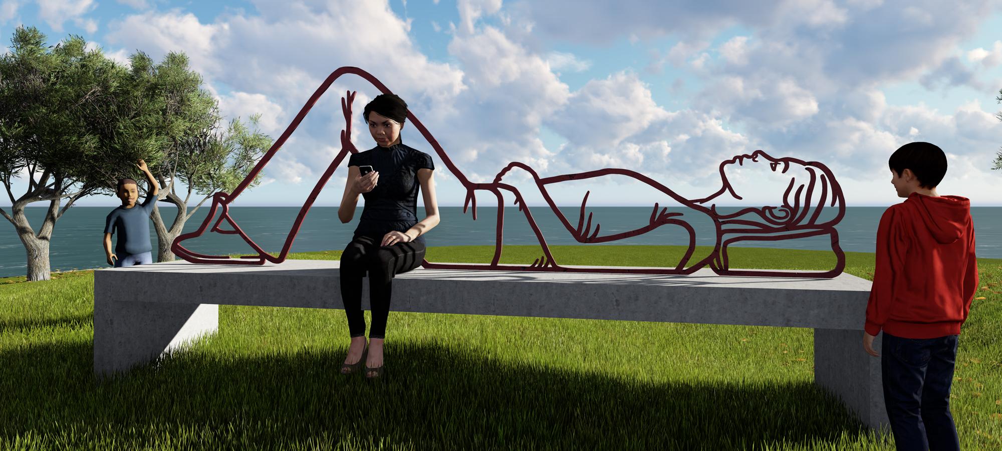 Public Art-sculpture park Vlissingen-BlokLugthart