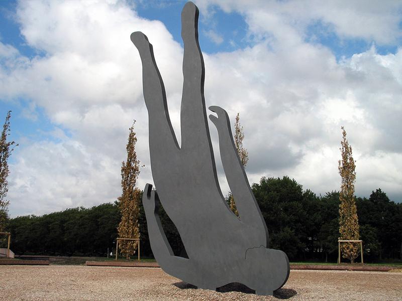 Public Art sculpture-Oegstgeest-BlokLugthart