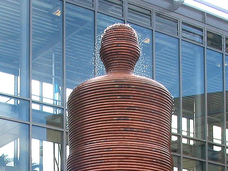 Public Art sculpture-Amsterdam Netherlands-BlokLugthart