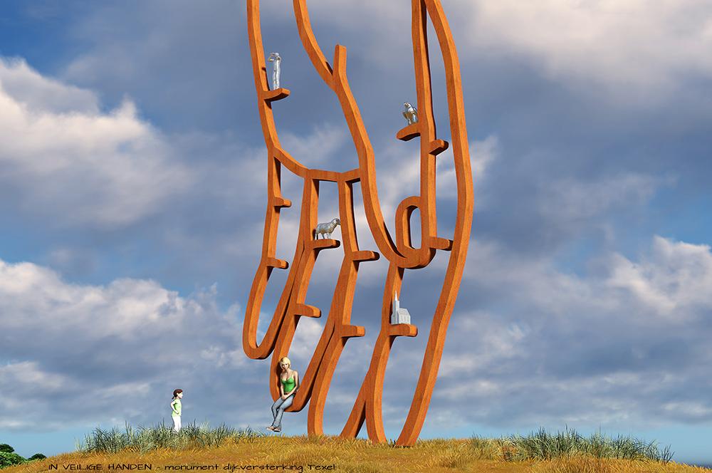 Public Art, Island Texel,BlokLugthart